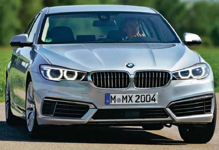 2017 BMW 5 Series engines