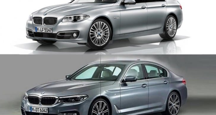 2017 BMW 5 Series photos reveal design changes