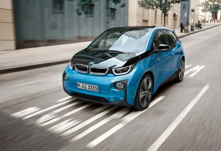 2017 BMW i3 94 Ah battery upgrade