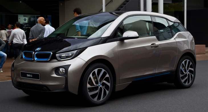 2017 BMW i3 with increased range