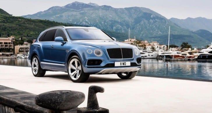 2017 Bentley Bentayga Diesel engine specs tease performance figures
