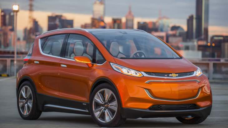 2017 Chevy Bolt EV production model