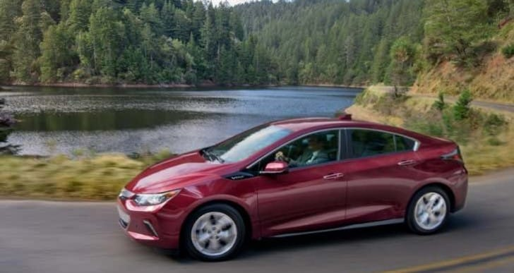 2017 Chevy Volt differences compared to 2016 model