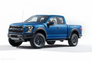 2017 Ford F-150 Raptor optional equipment packages