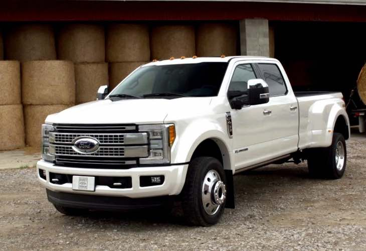 2017 Ford F450 production