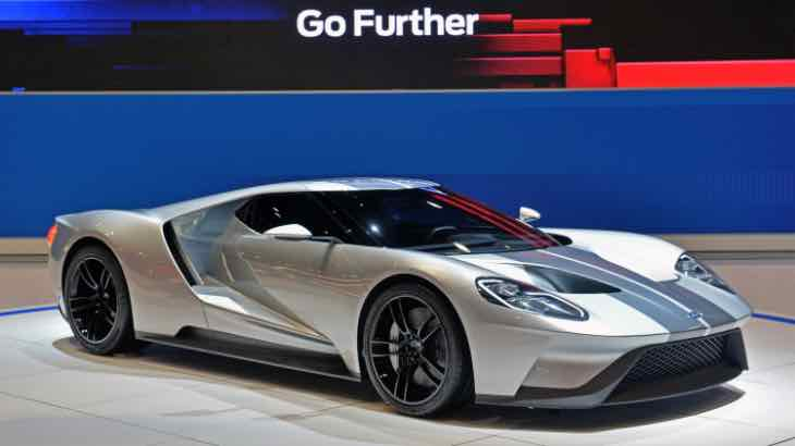 2017 Ford GT order guide