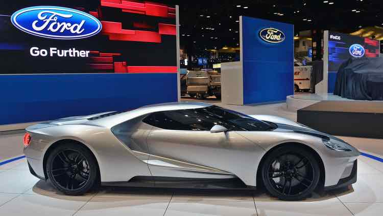 2017 Ford GT personalization process