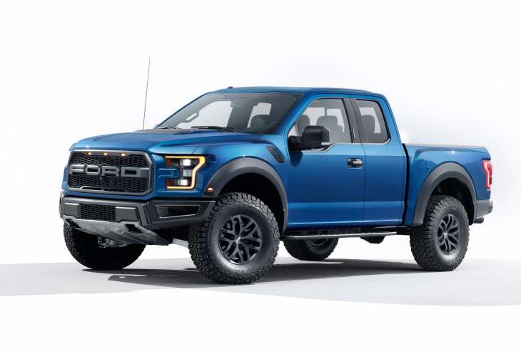 2017 Ford Super Duty truck range