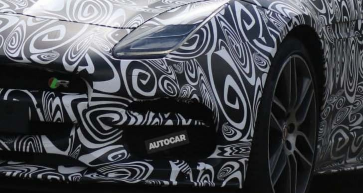 2017 Jaguar F-Type R Convertible exterior changes in photos