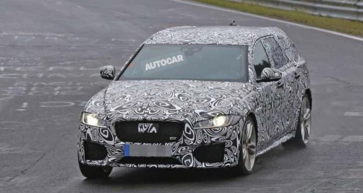 2017 Jaguar XF S Sportbrake handling put to the test