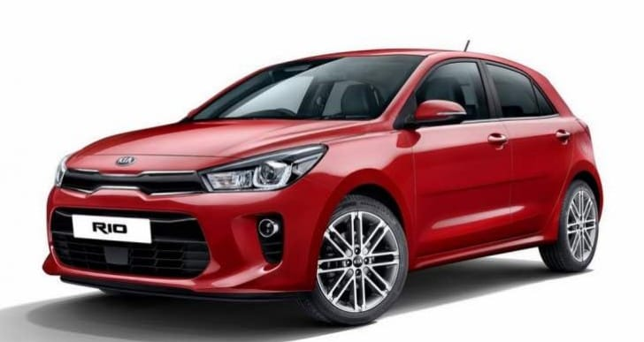 2017 Kia Rio design comparison Vs 2012 model