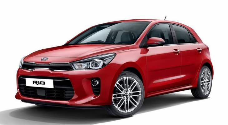 2017 Kia Rio design comparison