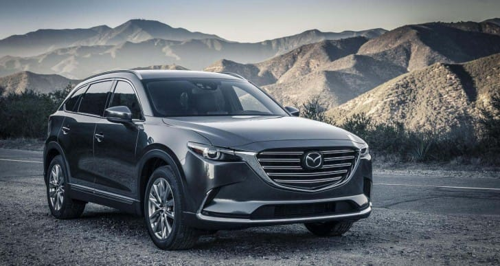 2016 Mazda CX-9 price not yet disclosed