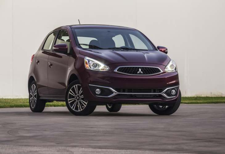 2017 Mitsubishi Mirage pricing