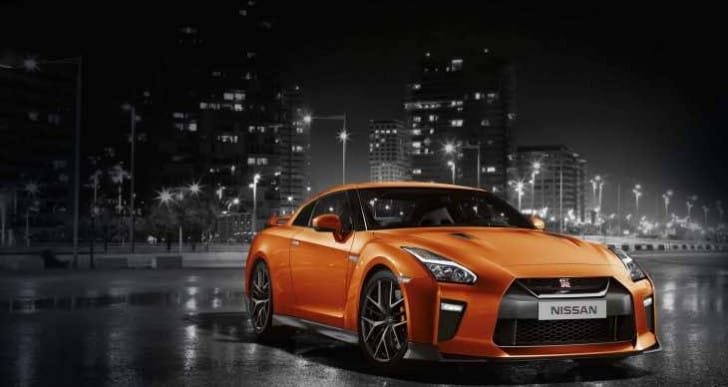 2017 Nissan GTR not part of Black Tag event