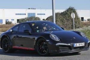 Next-gen Porsche 911 spy shots hide plug-in hybrid powertrain