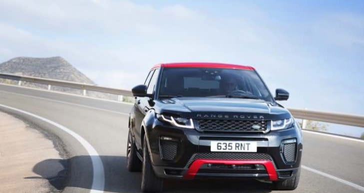 2017 Range Rover Evoque Ember Edition interior not original