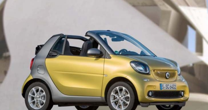 2017 Smart ForTwo Cabriolet review finds drawbacks