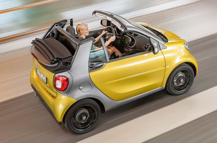 2017 Smart ForTwo Cabriolet test drive