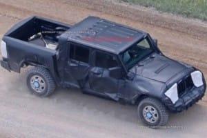 2018 Jeep Wrangler pickup design lacks cohesion