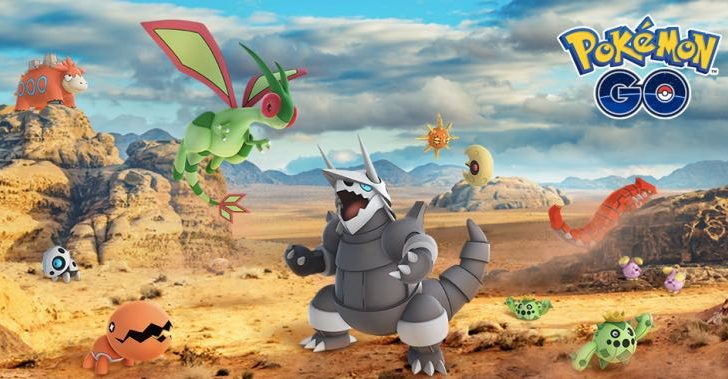 Pokemon Go Gen 3 Update with list of 23 new Pokemon