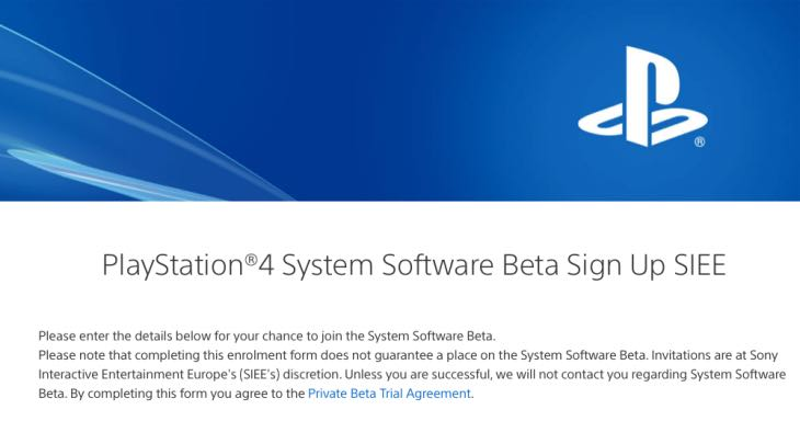 New PS4 update 5 5 beta test for UK, US – Product Reviews Net