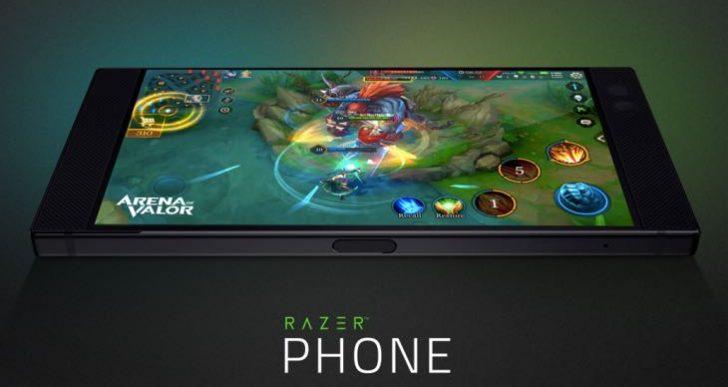 Razer Phone 120Hz supported games list in 2018