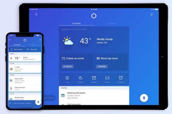 Apple iPad Cortana app better than Siri say some