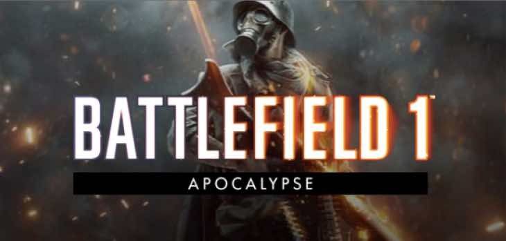 Battlefield 1 Apocalypse DLC patch notes on PS4, Xbox One, PC