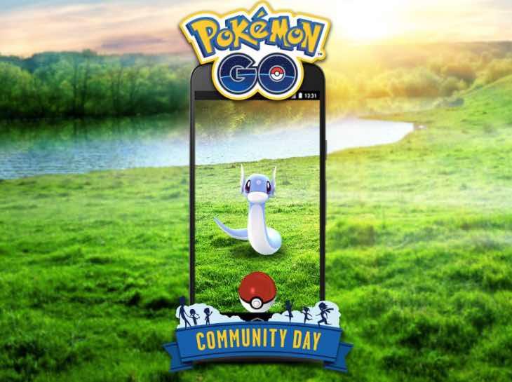 Pokemon Go Shiny Dratini hunt for Community Day