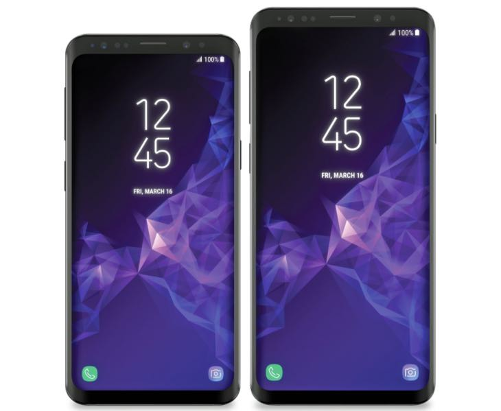 Samsung Galaxy S9's iPhone X feature previewed