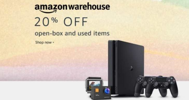 Amazon Warehouse UK deals with 20% off everything