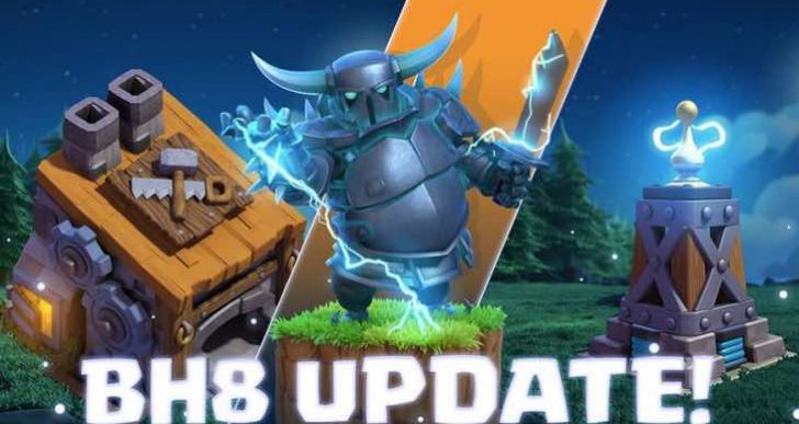 Clash of Clans March 5 update for Builder Hall 8 today