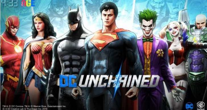 DC Unchained Pre-registration live on iOS, Android