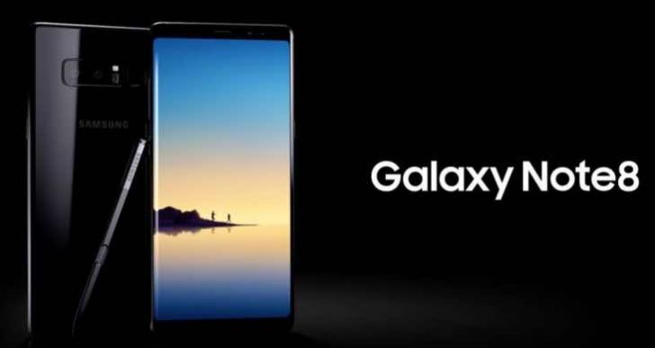 Samsung Galaxy Note 8 Oreo update release date may have leaked