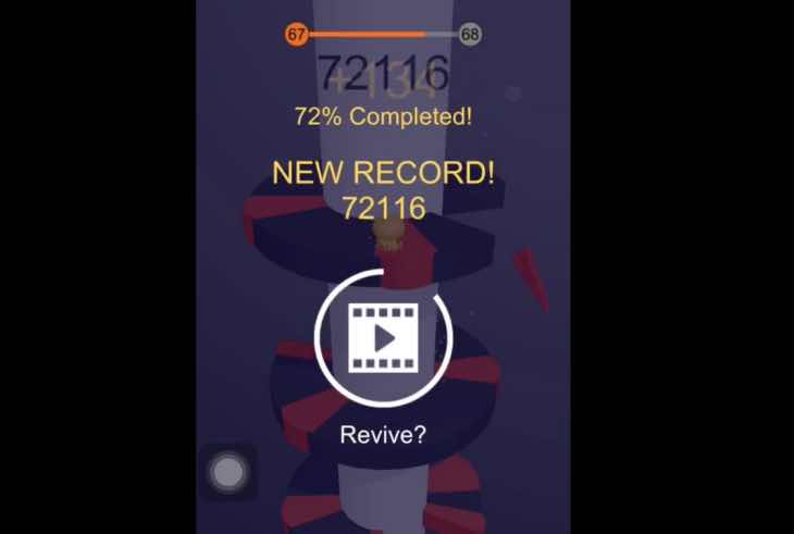 Helix Jump app world record high score so far – Product ...
