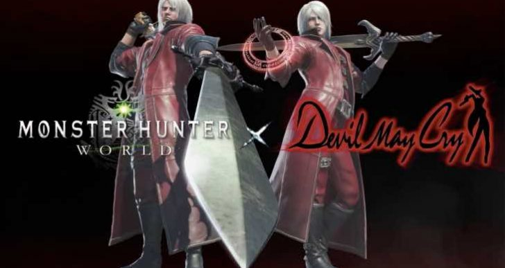 Monster Hunter World Devil May Cry preview trailer looks epic