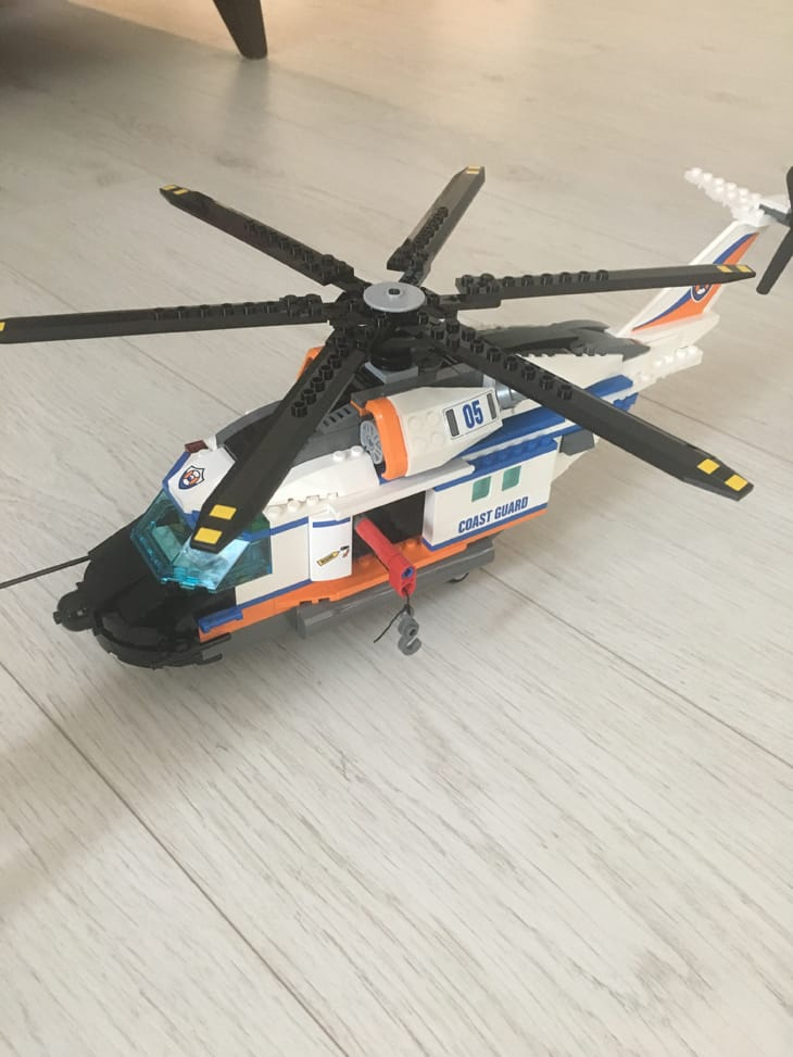 Lego City Helicopter 60166 Review Price Drop At Tesco Product