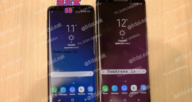 Samsung Galaxy Note 9 leaked images trick users
