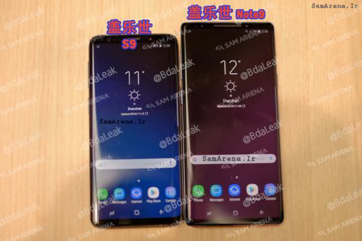 samsung galaxy note 9 leaked images trick users product reviews net. Black Bedroom Furniture Sets. Home Design Ideas