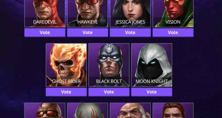 Marvel Future Fight Vision Vs Hyperion update event