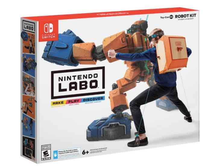 Nintendo Labo stock at Best Buy Vs Walmart