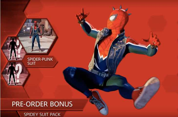 Spider Man Ps4 Release Date With Pre Order Bonuses Product Reviews Net