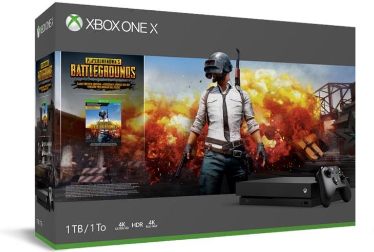 Microsoft Unleashes PUBG Xbox One X Bundle