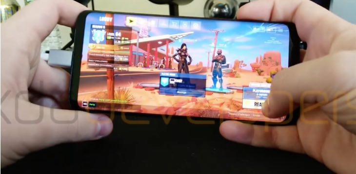 Fortnite gameplay android
