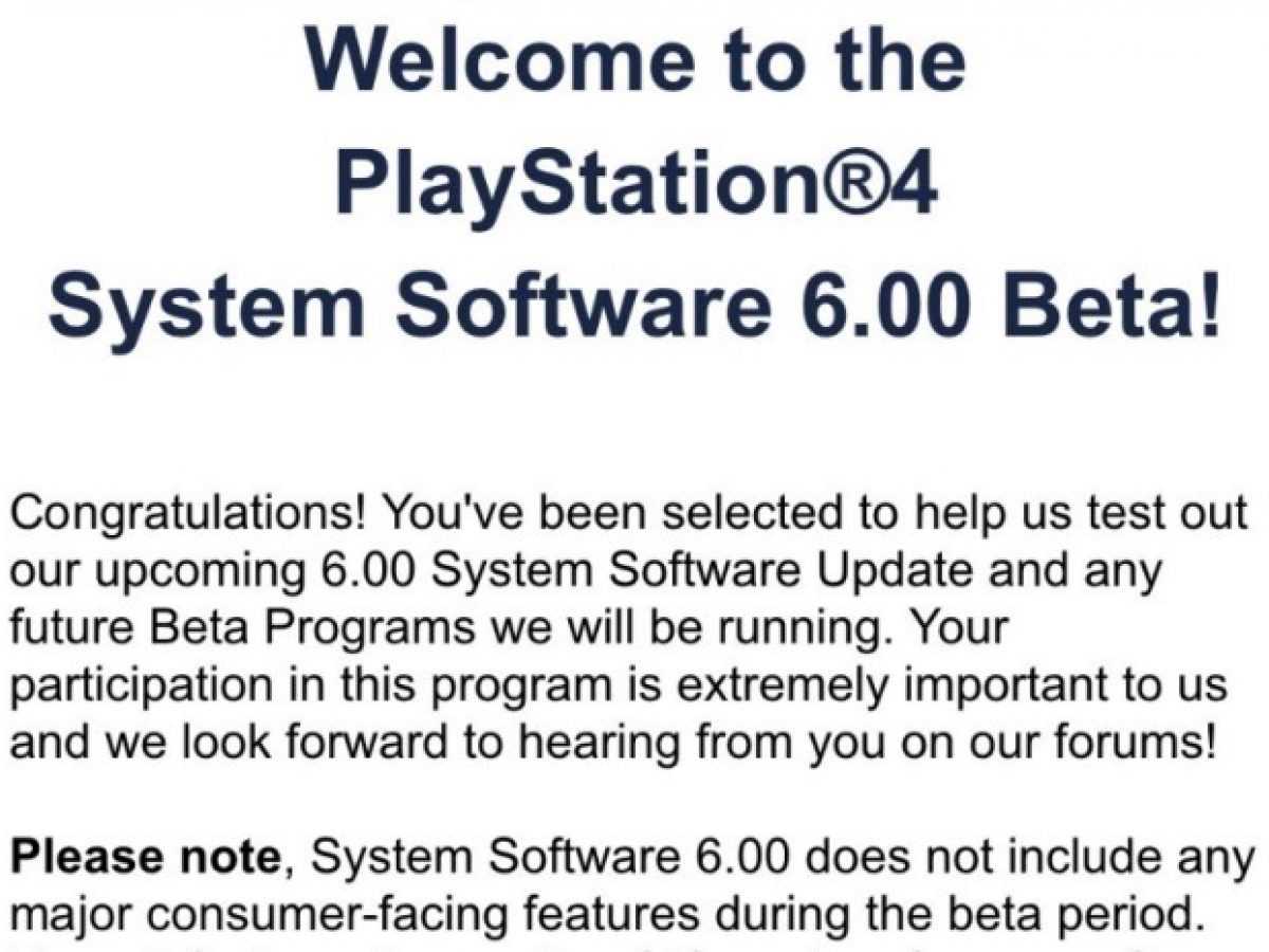 Ps4 system update 6
