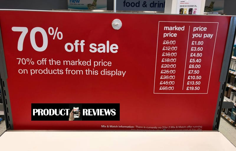 073d0e7080b3d ... to say in-store has a bigger range of products and this will be in-store  only with further reductions for fragrance gift sets and other items online.