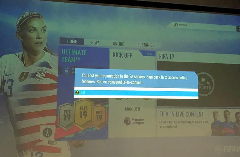 Fifa 19 Server Down