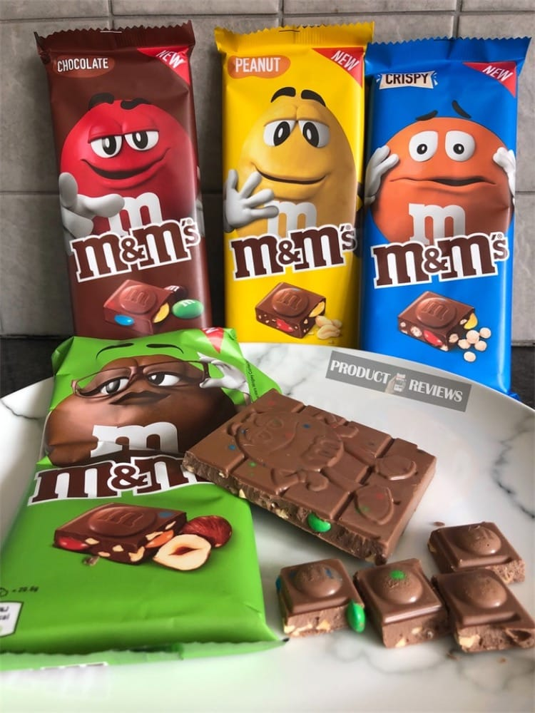 Exclusive Mm Chocolate Block Bars At Tesco Product