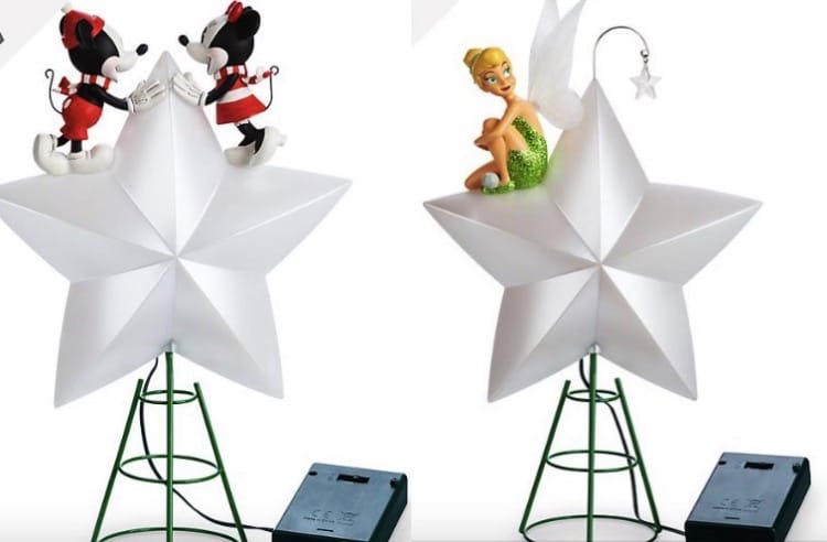 Shop Disney Launch NEW Christmas Tree Toppers